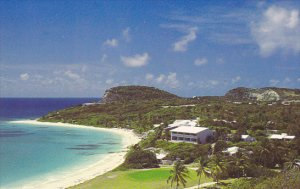 Golf Mill Reef Club 9th Green Antigua West Indies