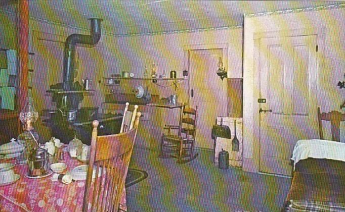 Vermont Plymouth President Coolidge Homestead Kitchen