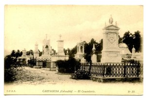 Colombia - Cartagena. The Cemetery