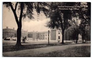 1942 Electric Engineering Building Pennsylvania State College Postcard