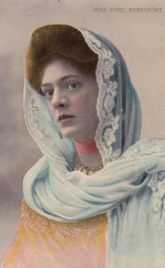 MISS ETHEL BARRYMORE, American actress, 1910-20s