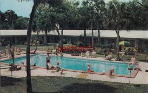 c1950/60's SUN'N SAND HOTEL COURT Daytona Beach FL John J. Gysbers, motel