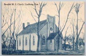 Lindsborg Kansas~Swedish United Methodist Episcopal Church~Covered Entrance