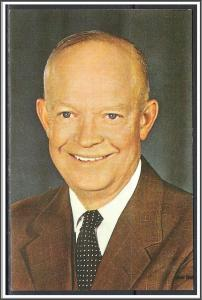 President Dwight D Eisenhower Greetings From Gettysburg - [MX-291]