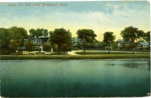 Lake and Sea Side Park - Bridgeport, Connecticut - pm 1909 at Fairfield, CT