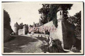 Modern Postcard Avallon La Petite Porte Gaujard And Tour