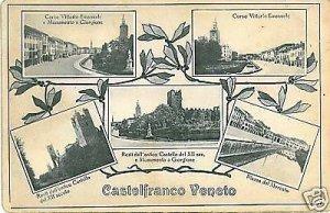 CARTOLINA d'Epoca: CASTELFRANCO VENETO - TREVISO