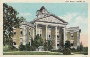 LEESVILLE , Louisiana, 1910-30s ; Court House