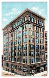 Early 1900s Lonsdale Building, Duluth, MN Postcard