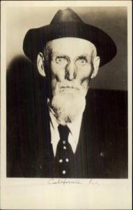Old West Cowboy CALIFORNIA JOE Real Photo Card myn 1920s-30s