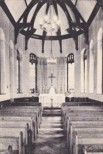 Interior, Chapel In Retreat House, Cenacle Of St. Regis, New York City, New...