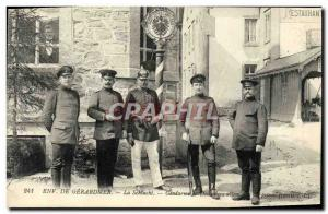 Postcard Old Customs Customs Gerardmer surroundings La Schlucht Gendarme Customs