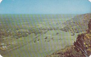 Wisconsin La Crosse Country Club As Seen From Grandad Bluff