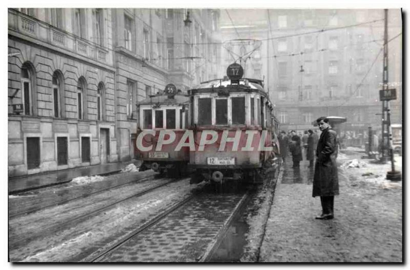 PHOTO Train Tram Russia Moscow