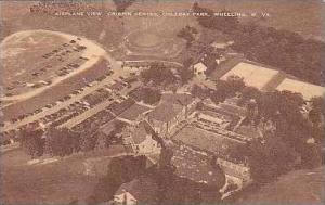 West Virginia Wheeling Airplane View Crispin Center Oglebay Park Artvue