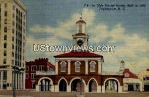 Ye Olde Market House, Built in 1838 in Fayetteville, North Carolina
