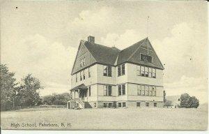 High School, Peterboro, N.H.    Rotograph