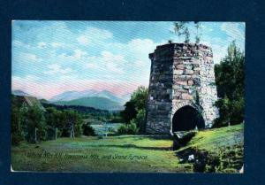 NH View Stone Furnace FRANCONIA White Mts NEW HAMPSHIRE