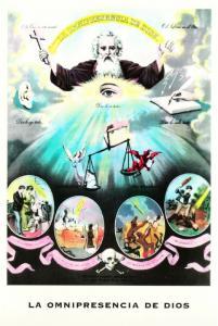 The Omnipresence of God Christian Modern Postcard