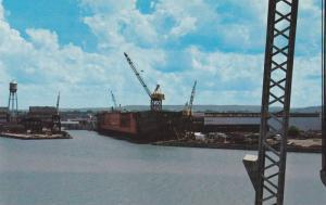 Ship Yard , COLLINGWOOD , Ontario , Canada , 40-60s