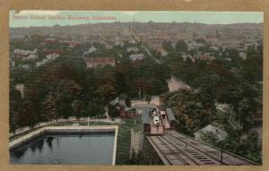 HAMILTON , Ontario , 1910s ; James Street Incline Railway