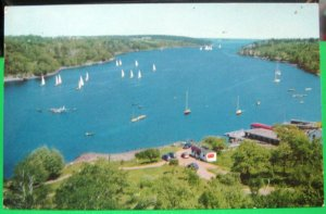 Canada Northwest Arm branch of Harbor at Halifax Nova Scotia - posted