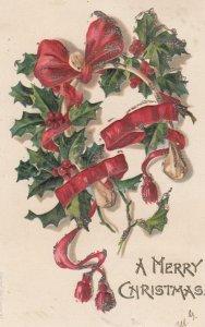 A Merry Christmas Wreath , 1906