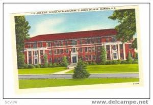 School of Agriculture, Clemson College, Clemson, South Carolina, 30-40