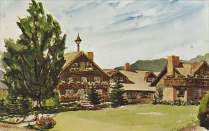 Trapp Family Lodge Stowe Vermont 1968