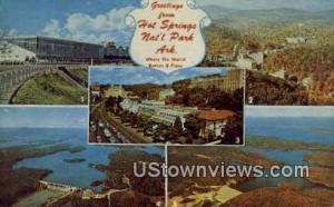 Hot Springs National Park, AR, Post Card     ;     Hot Springs National Park,...