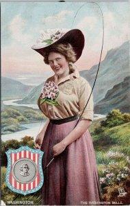 The Washington Belle WA State Belles Tuck Postcard G26