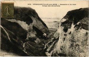 CPA VARENGEVILLE-sur-MER - Descente a la mer (105807)