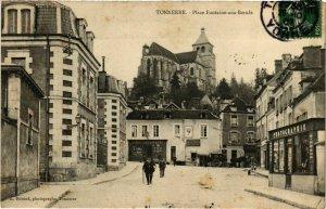 CPA Tonnerre - Place Fontaine-aux-Boeufs FRANCE (960942)