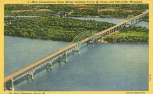 New Susquehanna River Bridge near Perryville, Maryland 19...