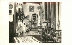1930s RPPC Postcard; Interior View Hotel Coronado Biltmore San Diego CA