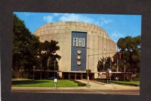 MI Dearborn Michigan Henry Ford Cars Automobiles Rotunda Museum Postcard