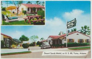 Wilcox AZ Desert Breeze Motel Postcard AAA 1950s