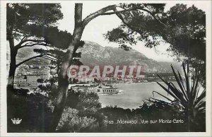 Modern Postcard Monaco Monte Carlo View