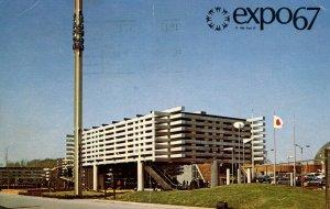 Canada - Quebec, Montreal. Expo '67. Japan Pavilion