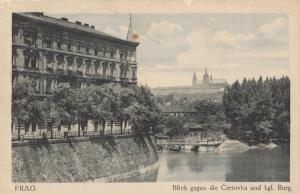 Czech Republic Prague Certovka castle