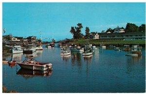 Postcard - Picturesque Perkins Cove Boats, Ogunquit, Maine