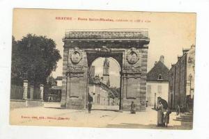 Porte Saint-Nicolas, Construite De 1755 a1770, Beaune (Côte-d'Or), France, 1...