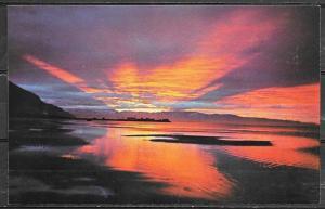 Utah, Great Salt Lake, sunset, unused