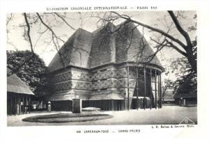 Paris  1931  Exposition Coloniale Int. Cameroon-Togo Grand Palais