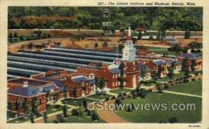 The Edison Institute in Detroit, Michigan