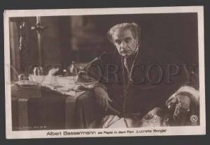 112700 BASSERMANN Famous German MOVIE Star Vintage PHOTO PC