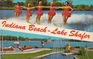 Indiana Lake Shafer Indiana Beach Water Skiers & Miniature Golf Course