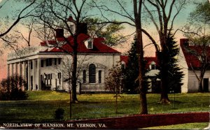 Virginia Mount Vernon Home Of Washington North View