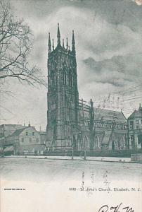 St. John's Church, ELIZABETH, New Jersey, PU-1909