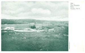 Aerial View of  Moquet's Mills  Yonkers  New York
